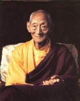 Kalu Rinpoche eyes