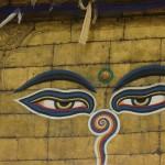 swayambunath buddha eyes