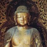 Jocho Buddha statue eyes